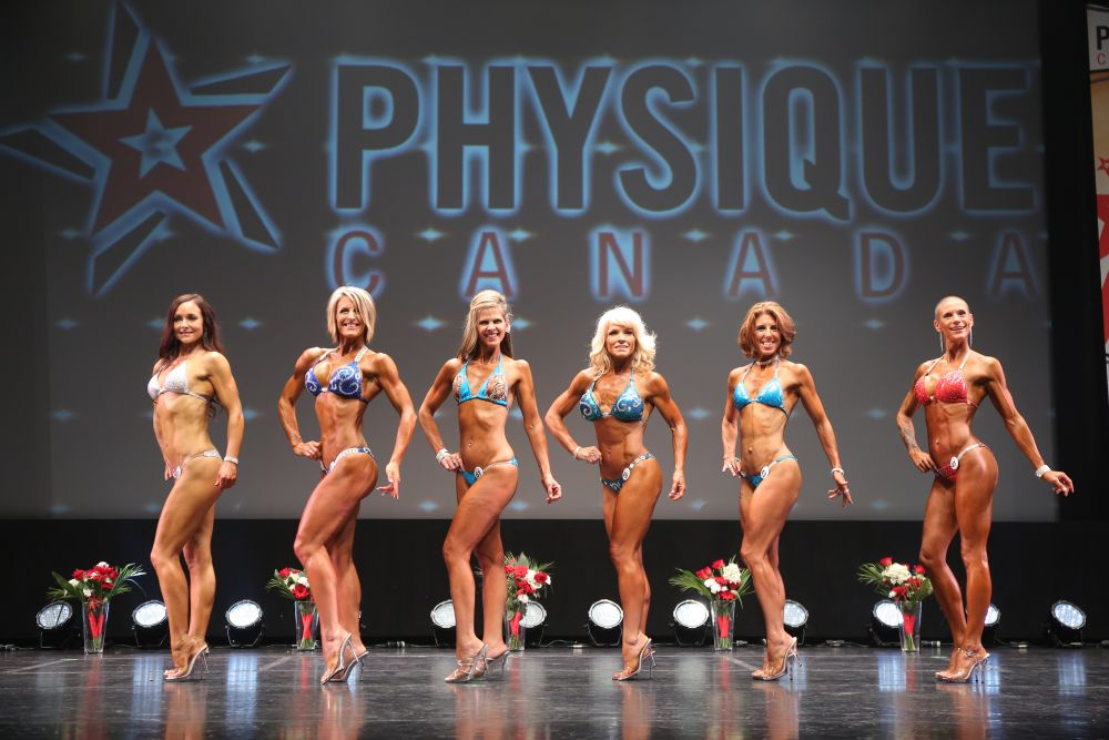 2017 Physique Canada National Classic Women's Athletic Physique - Masters, Tier 3, Tier 2, Tier 1 Pro