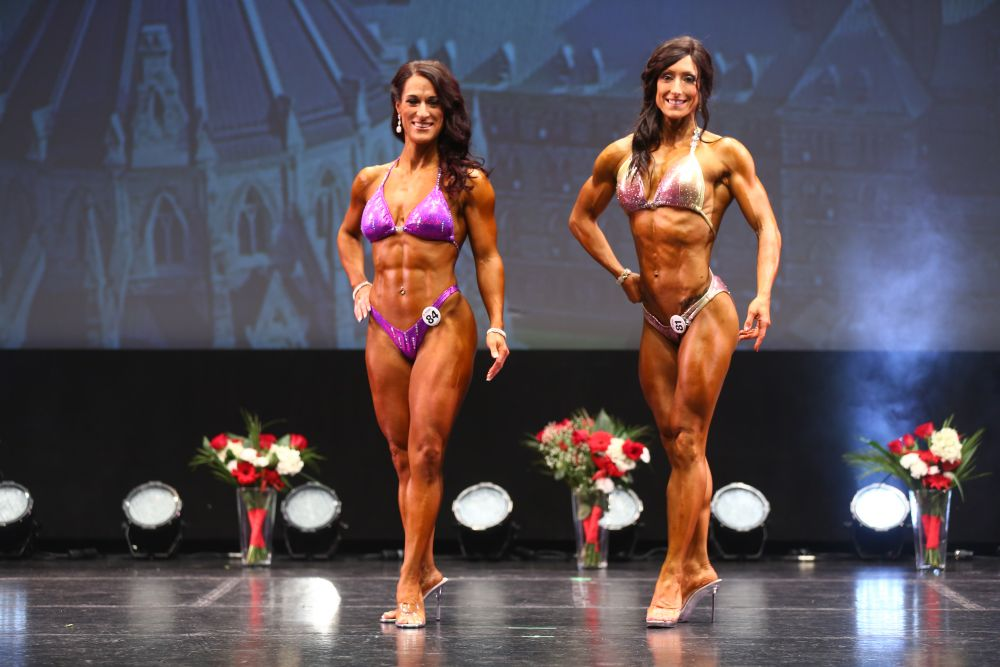 2017 Physique Canada National Classic Women's Muscular Physique (Figure) - Tier 2, Tier 1 Pro
