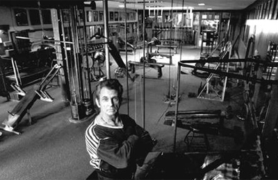 Vince in Vince's Gym
