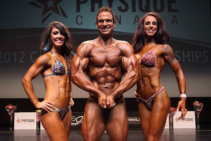 Physique Canada champions