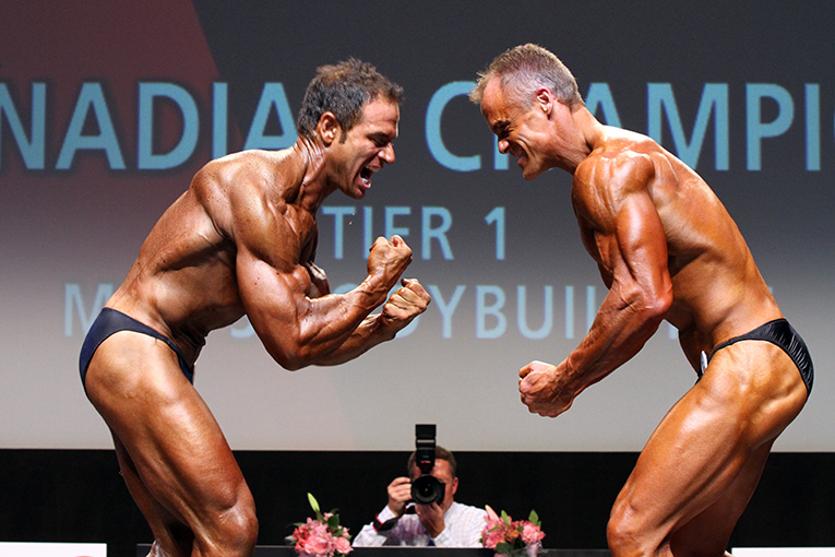 Rob DeLuca and Simon Proteau