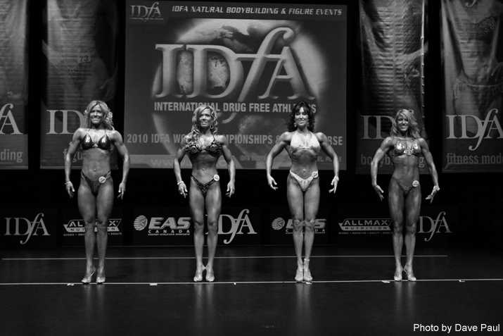 Women's figure line-up